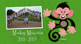 Monkey Memories DVD Menu